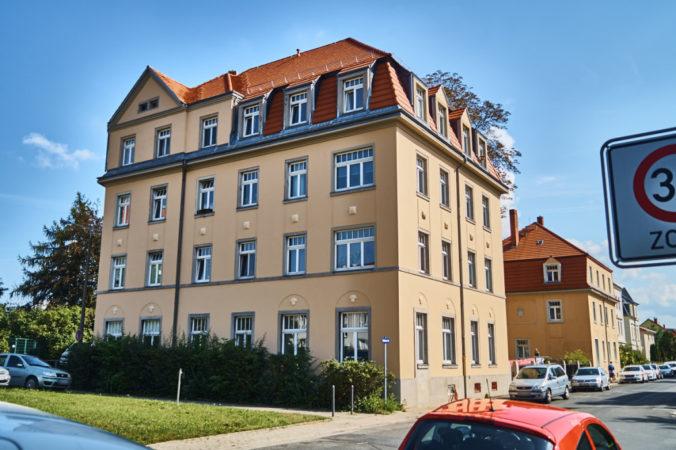 Wohnhaus auf der Kaditzer Straße