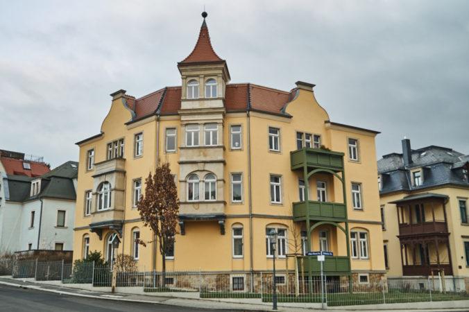 Wohnhaus an der Döbelner Straße
