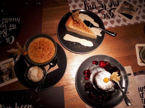 Unsere Desserts.