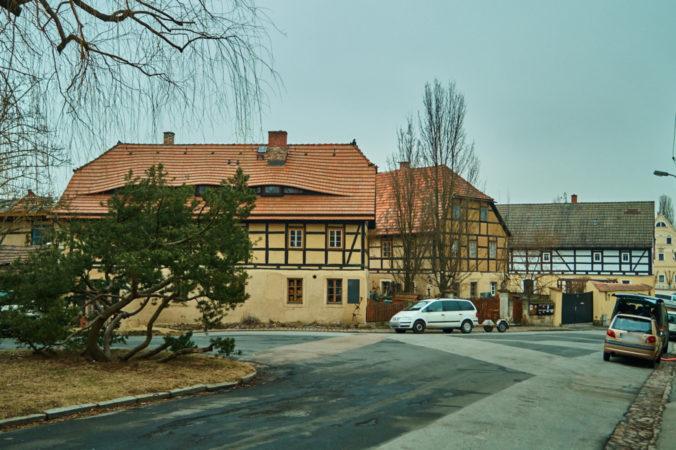 Fachwerkhäuser in Altcoschütz
