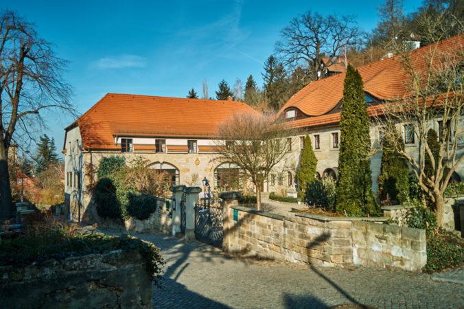 Ehemalige Rittergutsbrauerei in Niederpoyritz