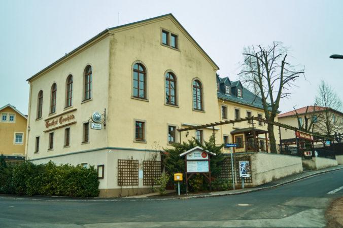 Alte Weizenmühle in Coschütz