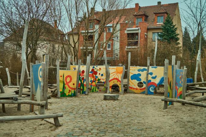 Spielplatz an der Windbergstraße in Coschütz