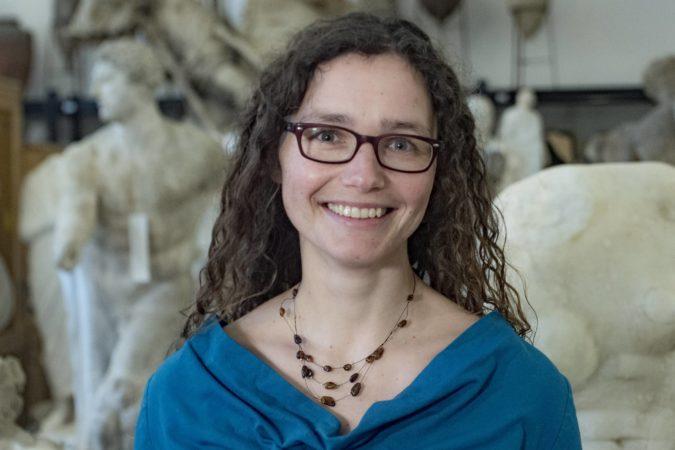 Dr. Antje Junghanß – Wissenschaftliche Mitarbeiterin am Institut für Philologie | Foto: René Plaul