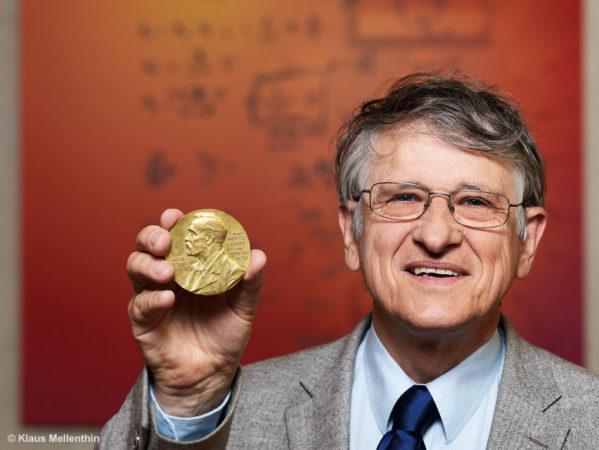 Klaus von Klitzing hat 1985 den Nobelpreis in Physik erhalten.   Foto: Max Planck Gesellschaft/Klaus Mellenthin