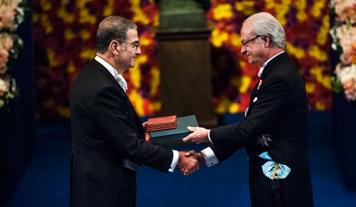 Am 27. Juni wird Physiknobelpreisträger Serge Haroche einen Vortrag an der TU Dresden halten.   Foto: © Nobel Media AB 2012/Alex Ljungdahl
