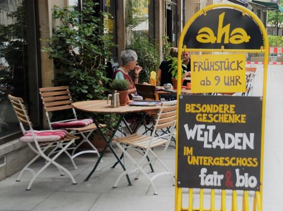 Nachhaltige Restaurants und Cafés in Dresden