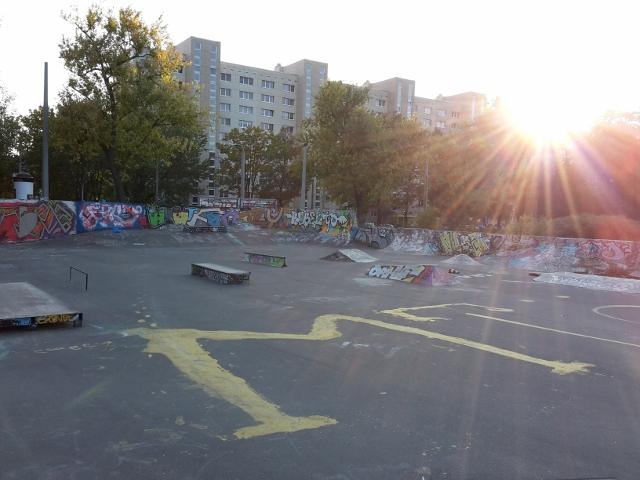 Mittlerweile wurde der Park teilweise erneuert.