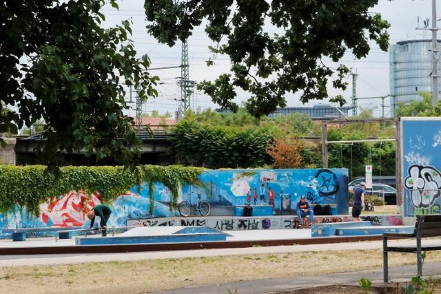Skatepark Dresden Mitte