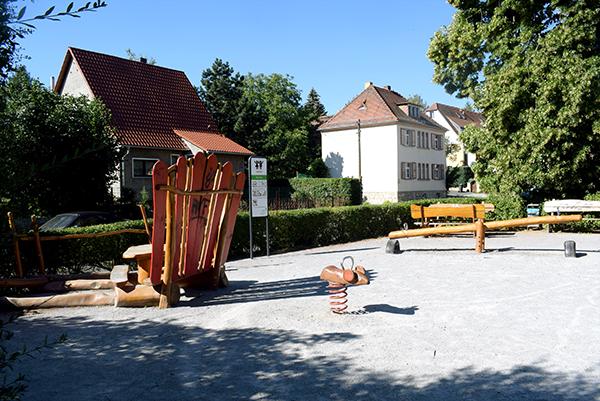 Spielplatz in Mockritz