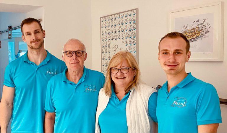 Physiotherapie Friedl - Ronny Christoph, Horst Freidl, Kerstin Friedl, Daniel Schuffenhauer